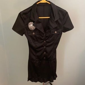 Police Officer Costume Party Dress